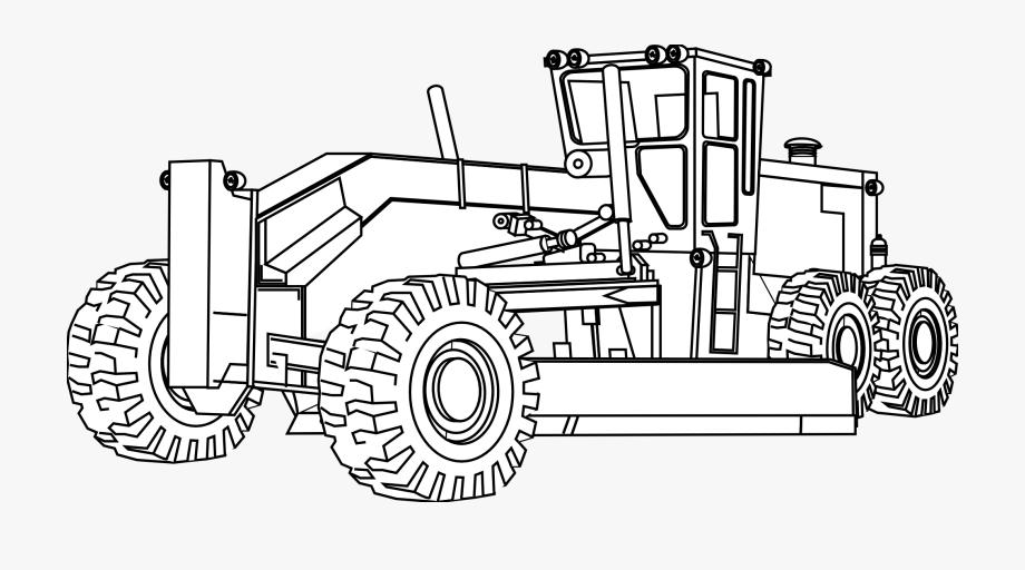 Backhoe clipart engineering equipment. Big machines
