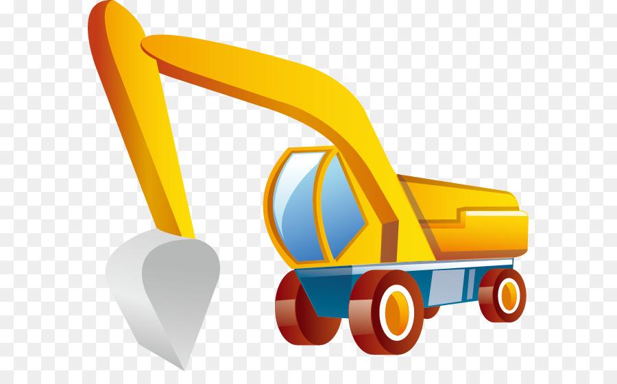 Backhoe clipart excavation. Excavator komatsu limited png