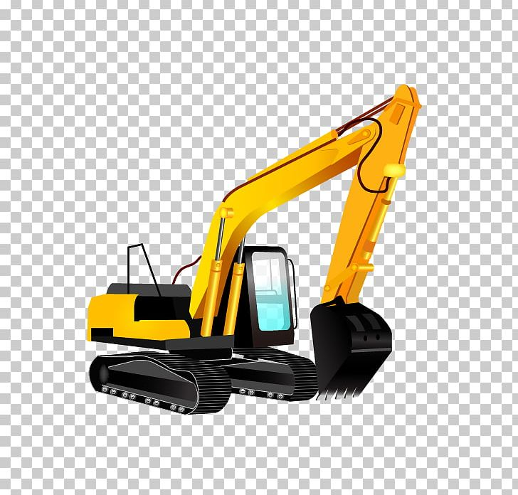 Heavy equipment bulldozer png. Backhoe clipart excavator arm