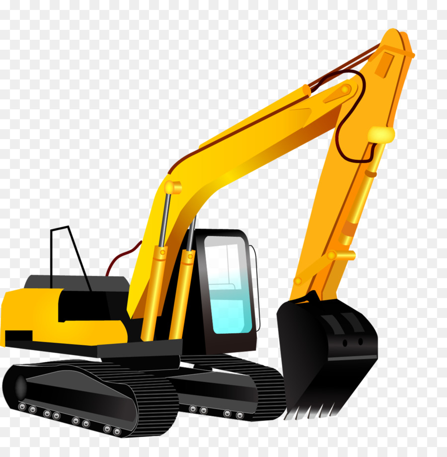 Caterpillar inc bulldozer cartoon. Backhoe clipart excavator arm
