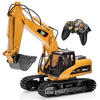 Backhoe clipart excavator arm. Amazon com top race