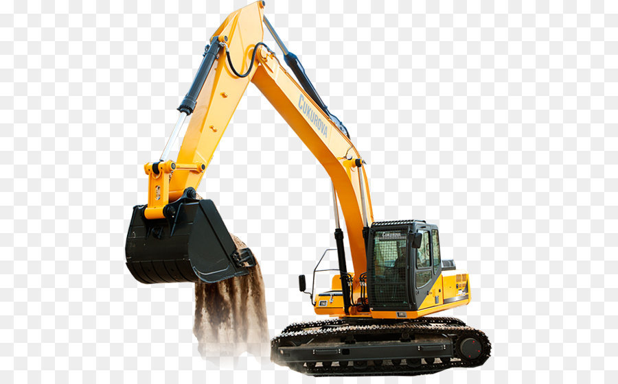 Backhoe clipart heavy equipment. Caterpillar inc excavator icon