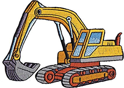 Amazon com application cartoon. Backhoe clipart heavy equipment