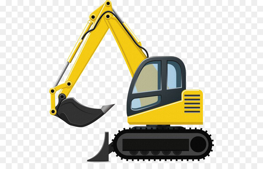 Caterpillar inc excavator clip. Backhoe clipart machine jcb