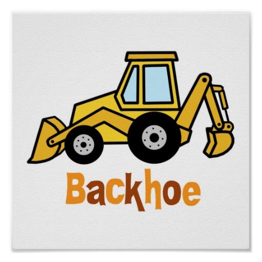 Backhoe clipart machine jcb. Om international perfect kits