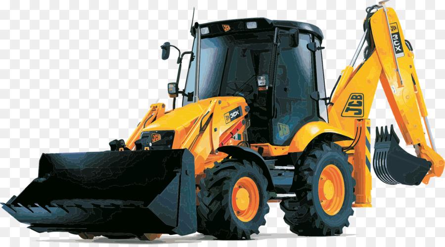 Excavator loader heavy equipment. Backhoe clipart machine jcb