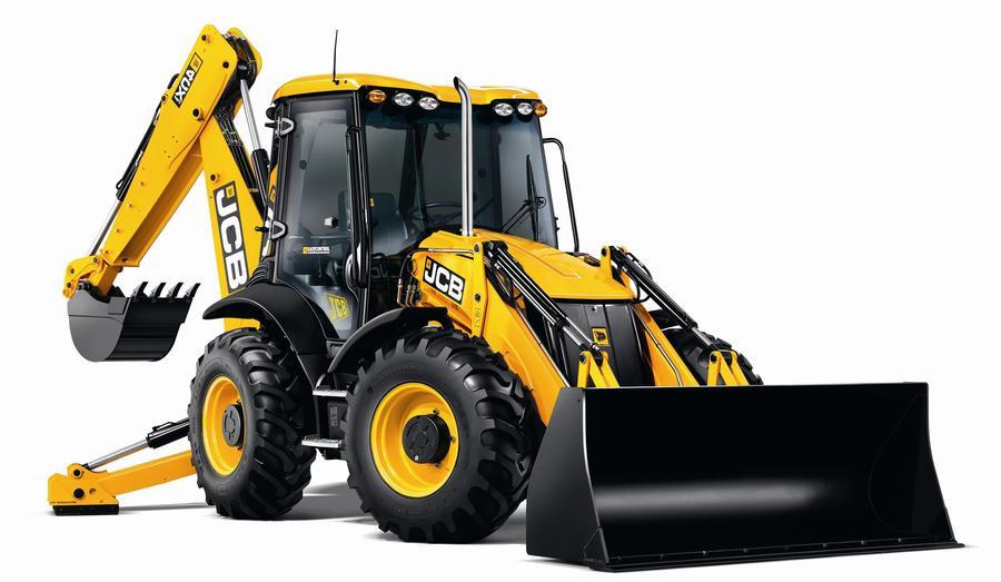 Backhoe clipart machine jcb. Excavator bulldozer transport product