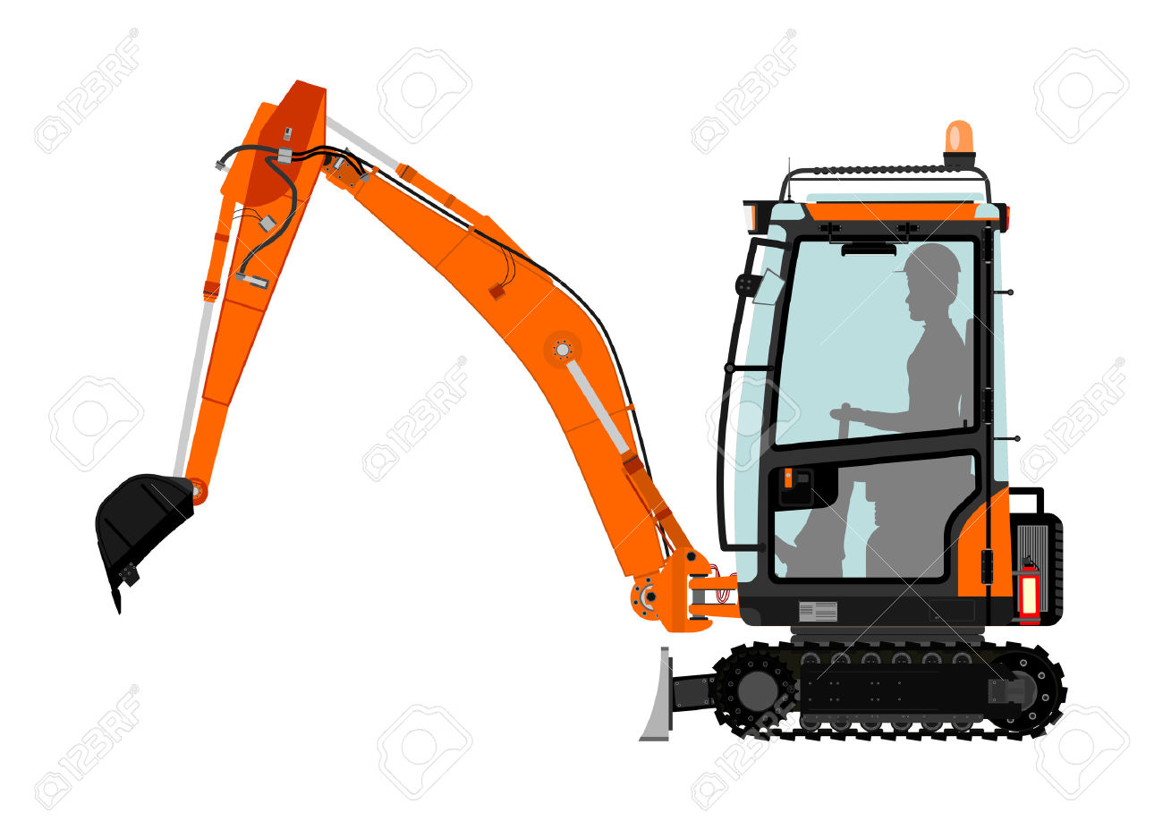Excavator clipart mechanical. Free download best on
