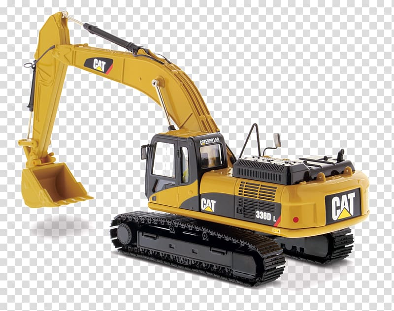 Caterpillar inc excavator die. Backhoe clipart mining equipment