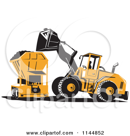 Clipground preview. Backhoe clipart mining equipment