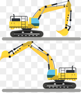 Backhoe clipart plant machinery. Png and psd free