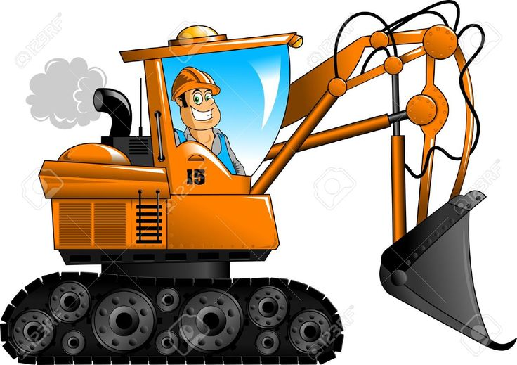 best equipment images. Backhoe clipart plant machinery