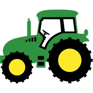 Backhoe clipart silhouette. Farm tractor design and
