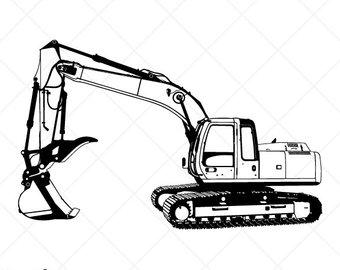 Backhoe Clipart Svg Backhoe Svg Transparent Free For Download On Webstockreview 2020