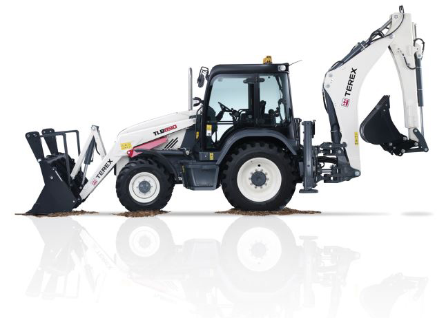Terex year anniversary of. Backhoe clipart tlb