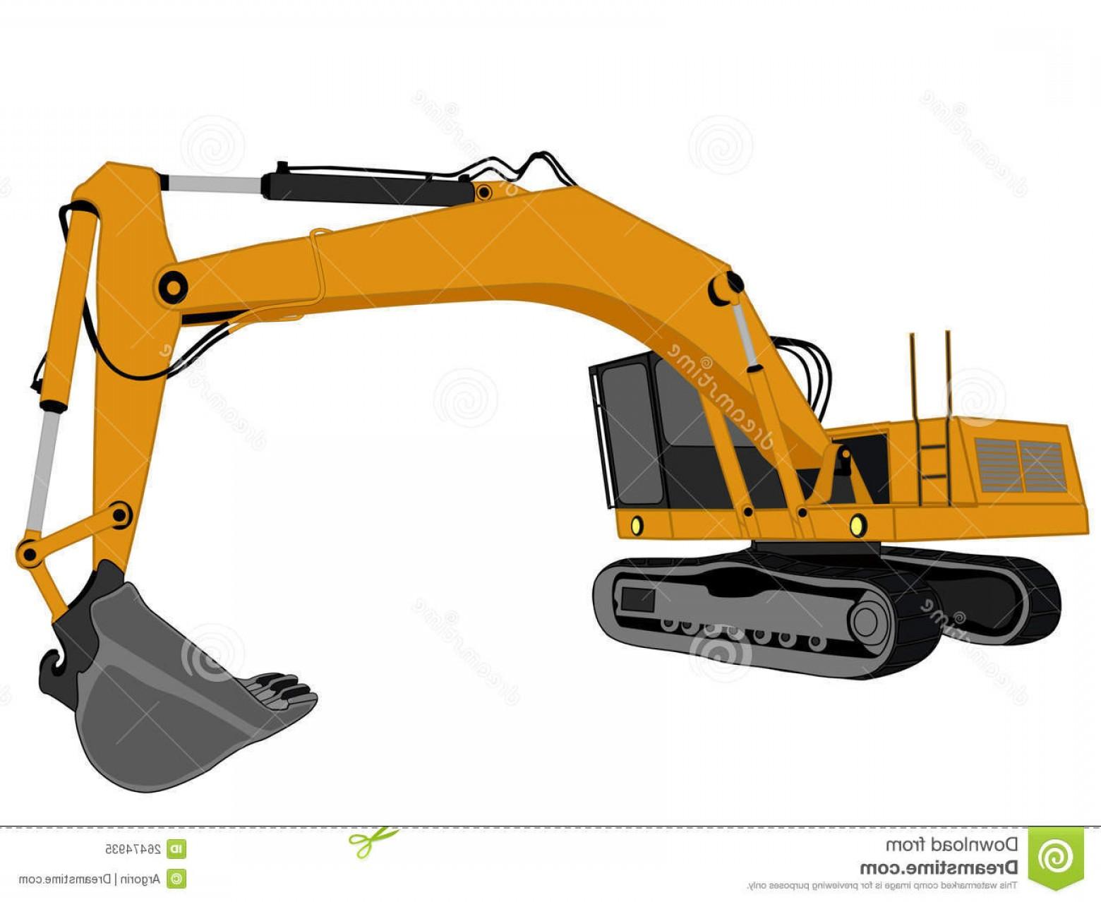 Backhoe clipart trackhoe. Equipment lovely cat excavator