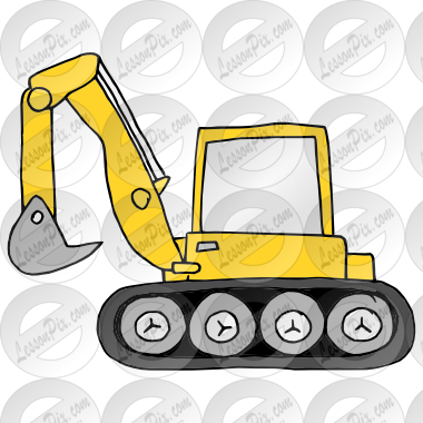 Picture for classroom therapy. Backhoe clipart transparent