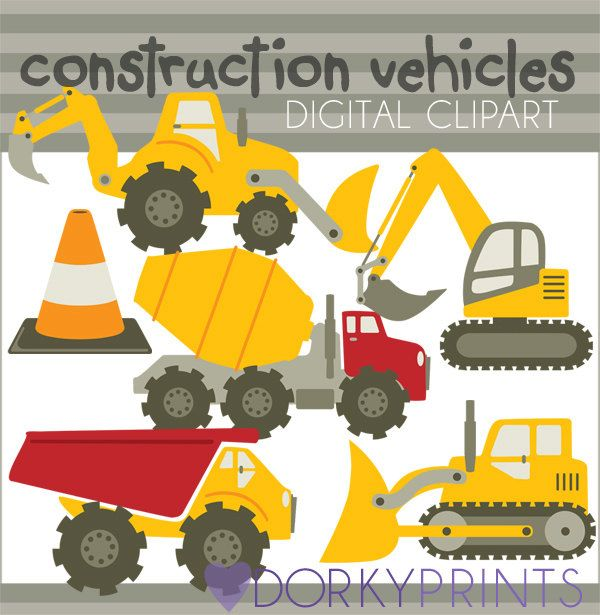Construction vehicles vehicle and. Backhoe clipart truck tonka