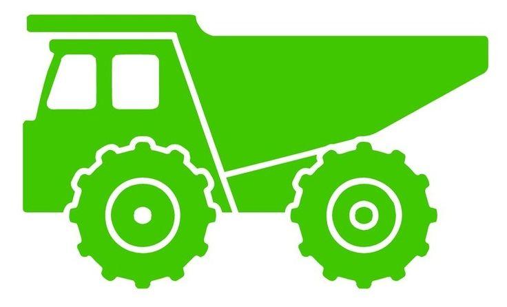 Backhoe clipart truck tonka. Dump silhouette google search