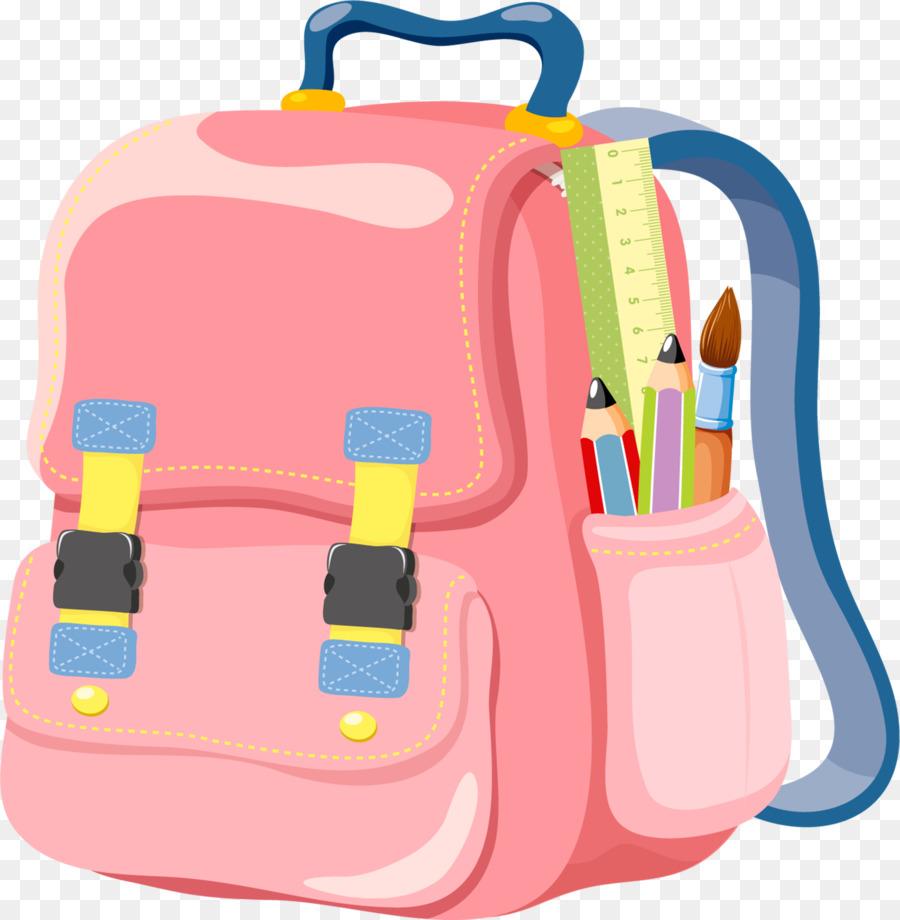 Backpack clipart 3 bag. School clip art cartoon