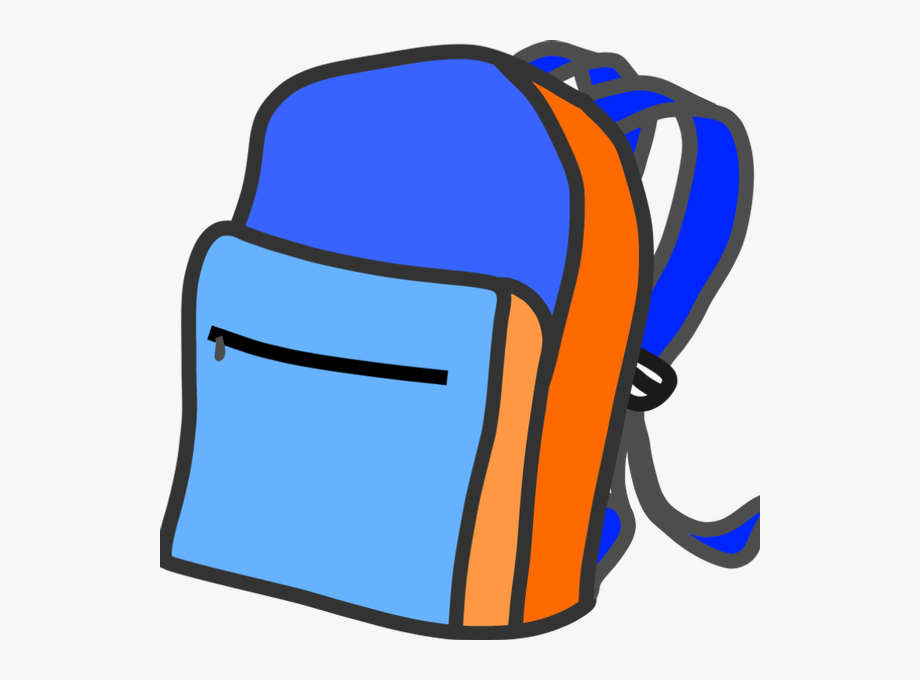 Backpack clipart. Giveaway transparent background