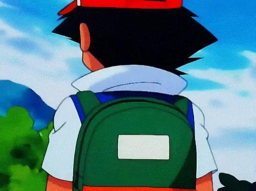 Gifs tenor pokemon pikachu. Backpack clipart animation