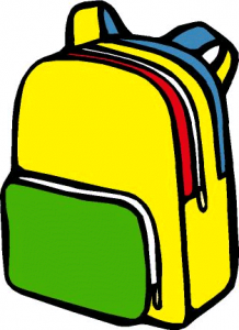 Backpack clipart back pack. Free pictures clipartix space