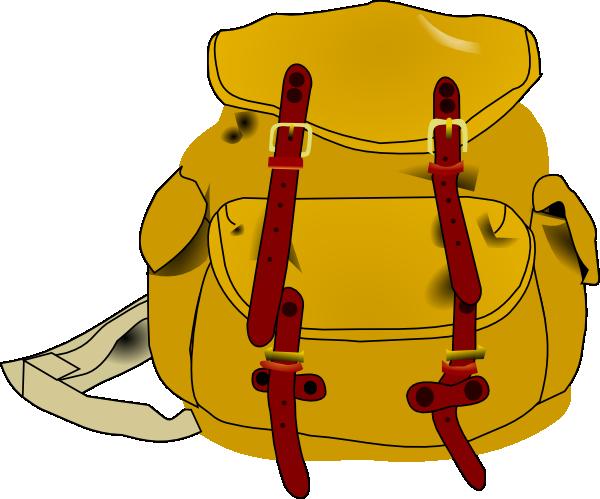 Clip art at clker. Backpack clipart back pack
