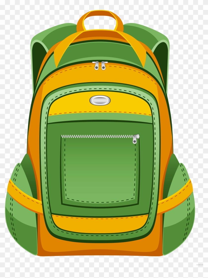 Backpack clipart back pack. Png transparent