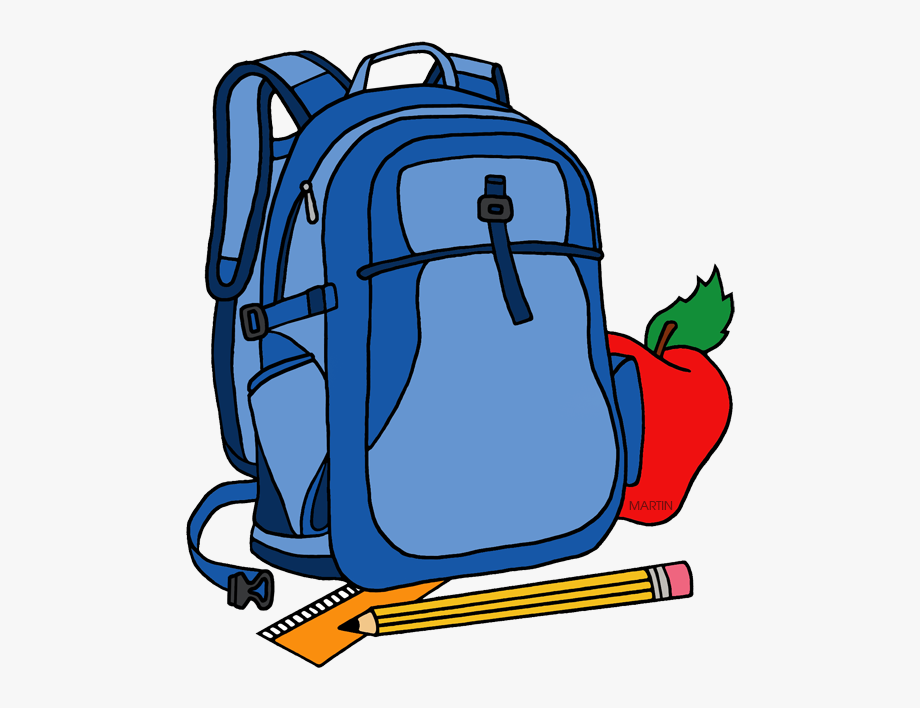Backpack clipart back to school. Clip art pack