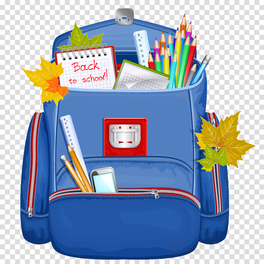 Bus . Backpack clipart back to school