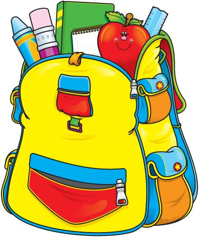 School backpack free images. Back clipart educational