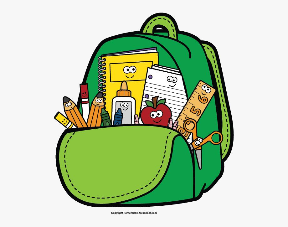 Clip art teacher . Backpack clipart back to school