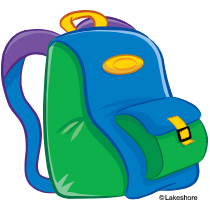 Backpack clipart backback. Safari pencil and in