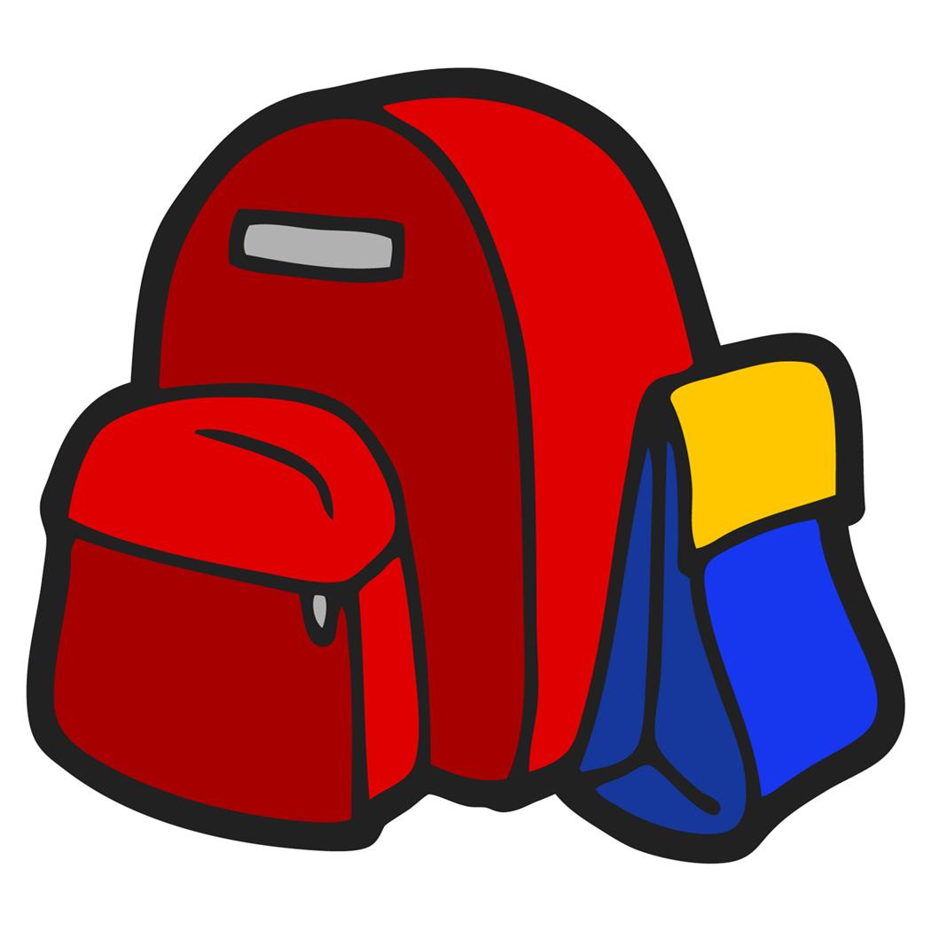 Backpack clip art pics. Bag clipart coat