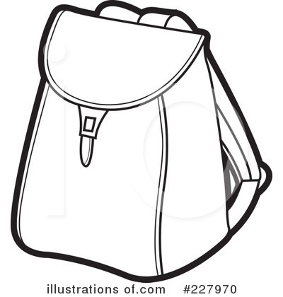 Backpack clipart black and white. Clip kid with cliparthut
