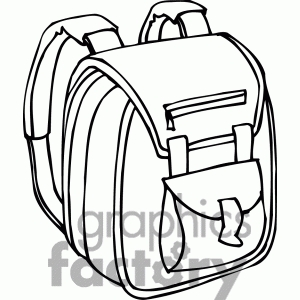 Hiking letters hd intended. Backpack clipart black and white