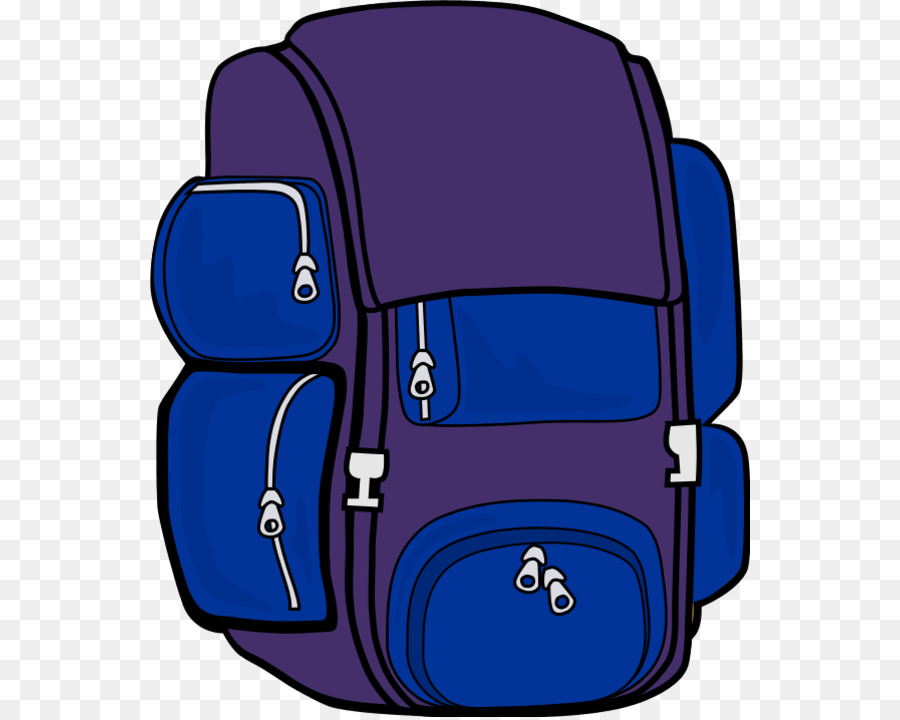 Hiking camping clip art. Backpack clipart blue backpack