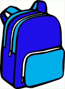 Clipart backpack. Free backpacks graphics images
