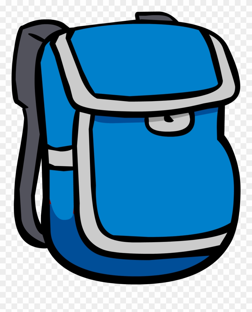 Backpack clipart blue backpack. Red clip art png