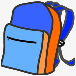 Backpack clipart bookbag. Free cliparts silhouettes cartoons