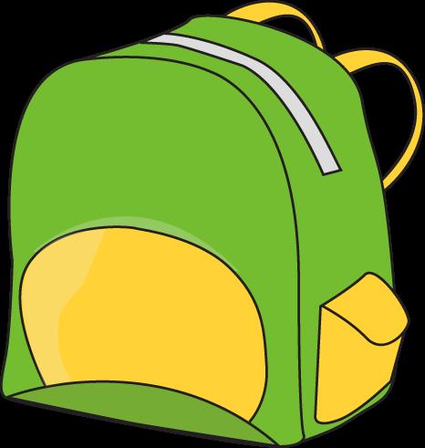 Art . Backpack clipart border