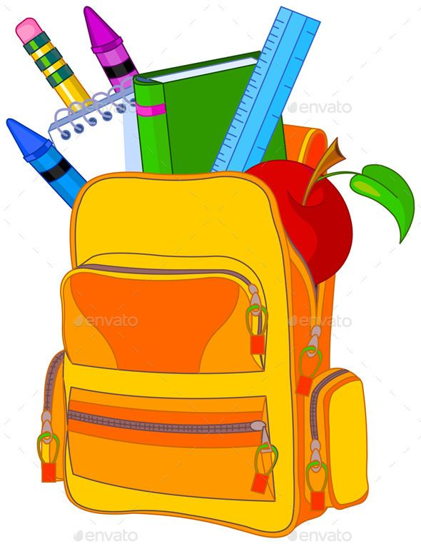 Full printables school images. Backpack clipart classroom