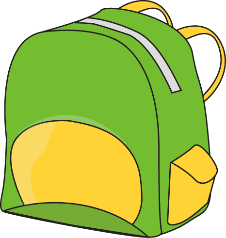 Pin by jenny gonzalez. Backpack clipart classroom