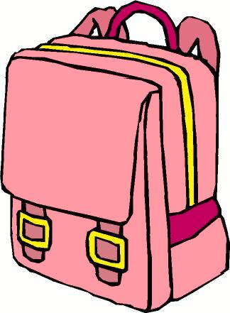 School backpack panda free. Bag clipart classroom