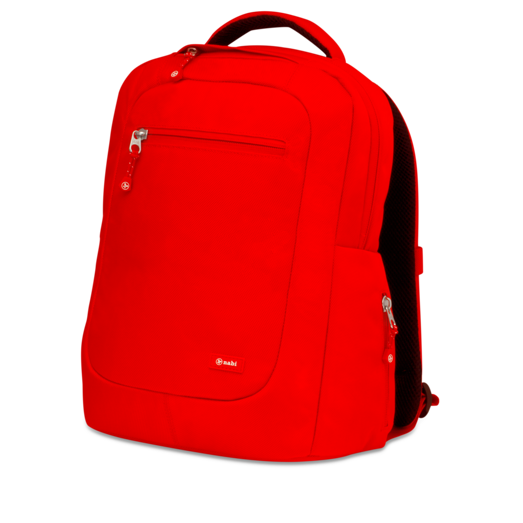 Backpack png image . Bookbag clipart red