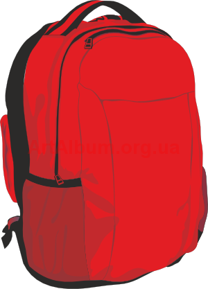 Bookbag clipart transparent background. This school backpack clip
