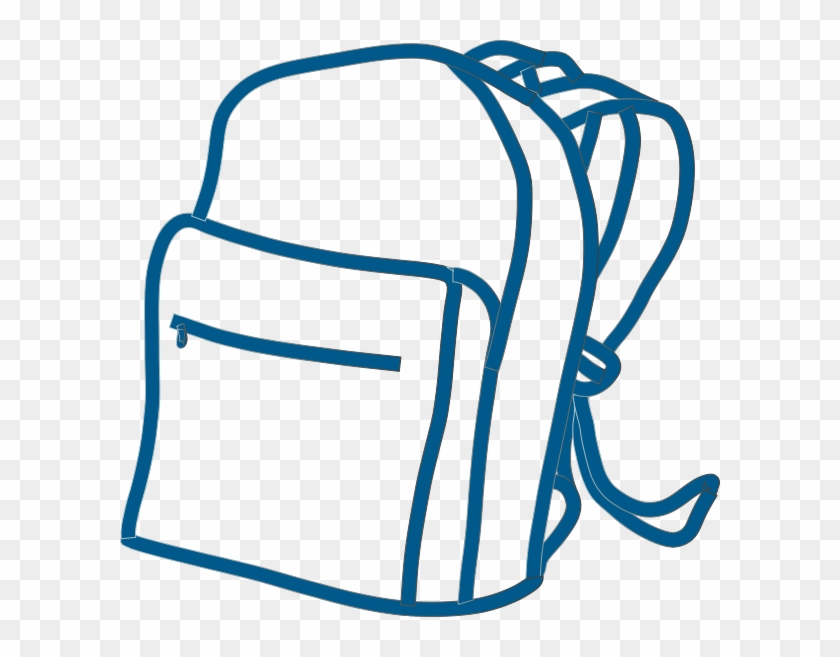 Backpack clipart clear background. Blue png clip art