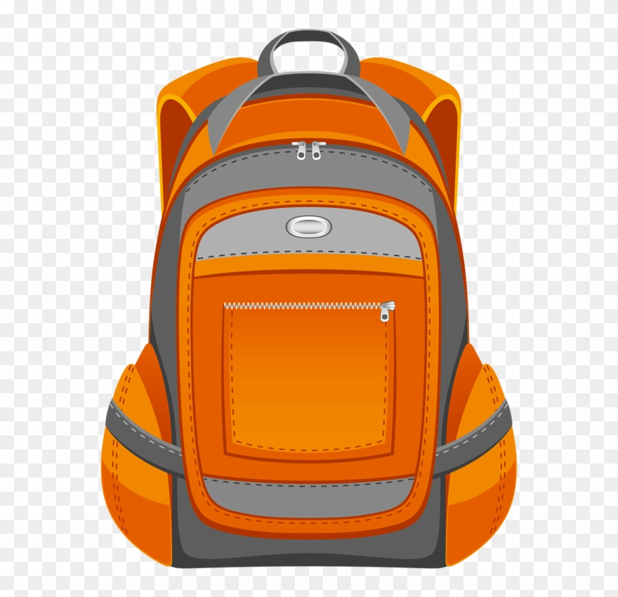 Backpack clipart color. Png download pinclipart