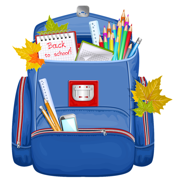 Clipart backpack small backpack. Blue school png graphics
